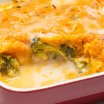 Fisherman's Pie with Broccoli and Sweet Potato