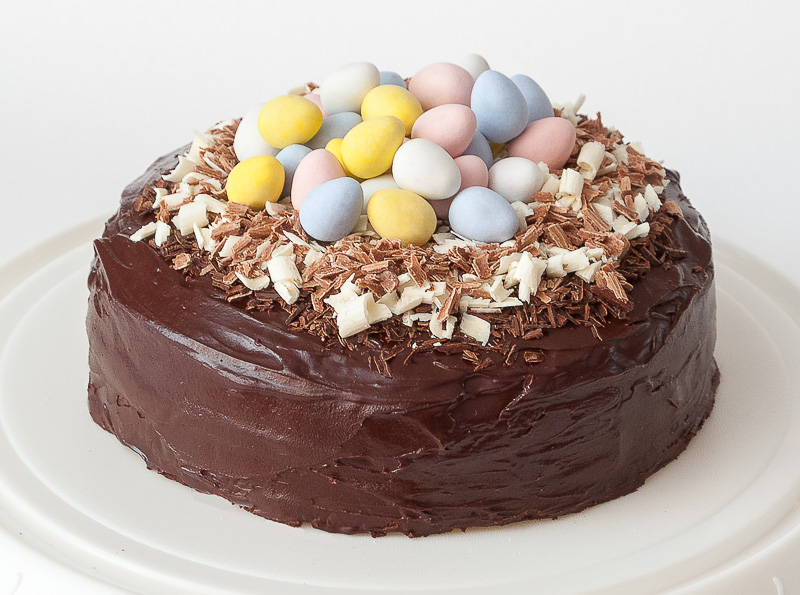 Indulgent Chocolate Easter Cake