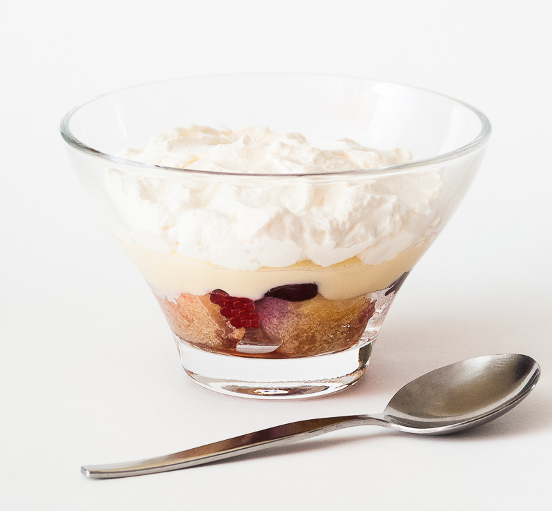 Sweet Berry Trifle
