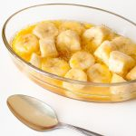 Baked Bananas in an Orange Sauce