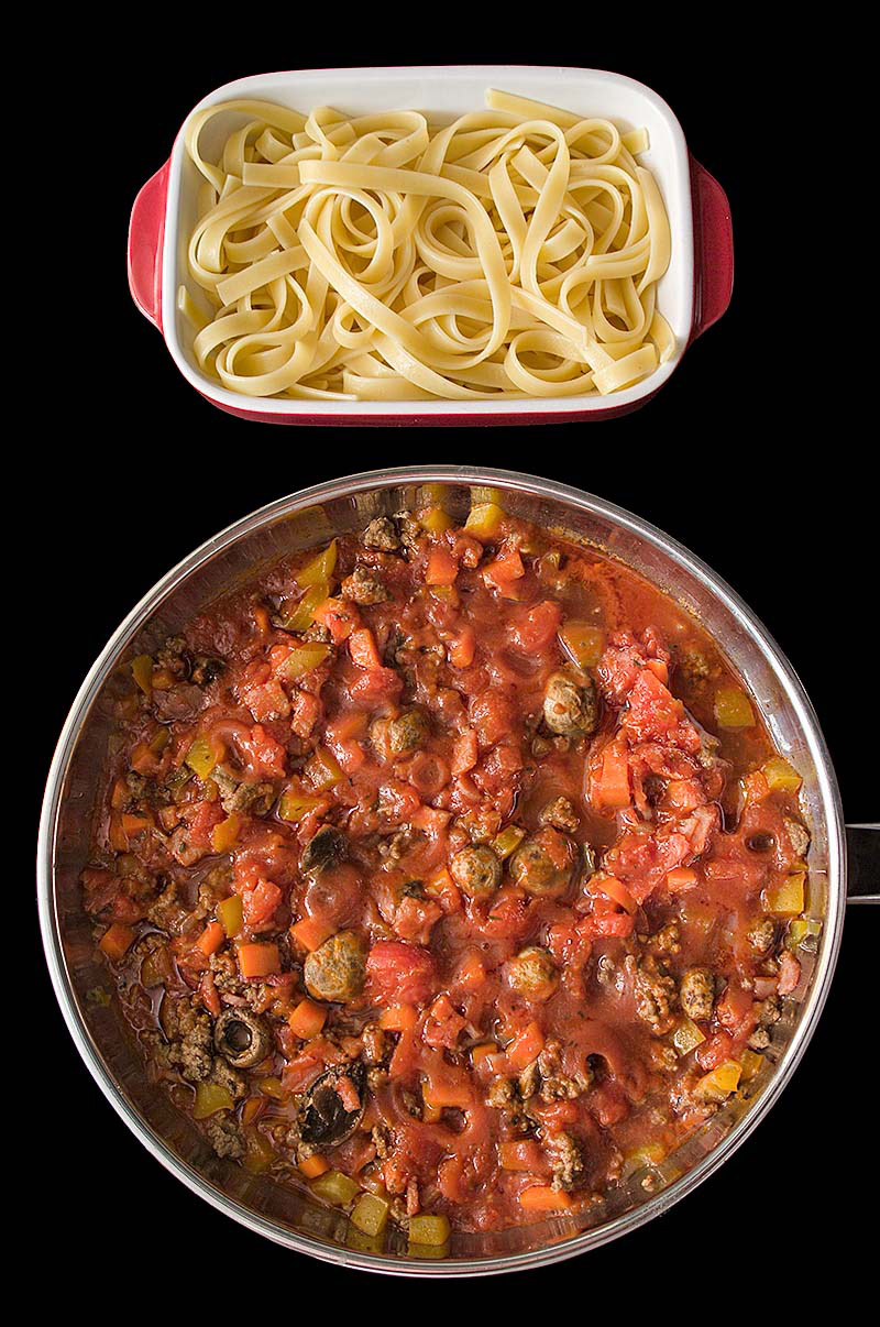 Beef and Bacon Bolognese