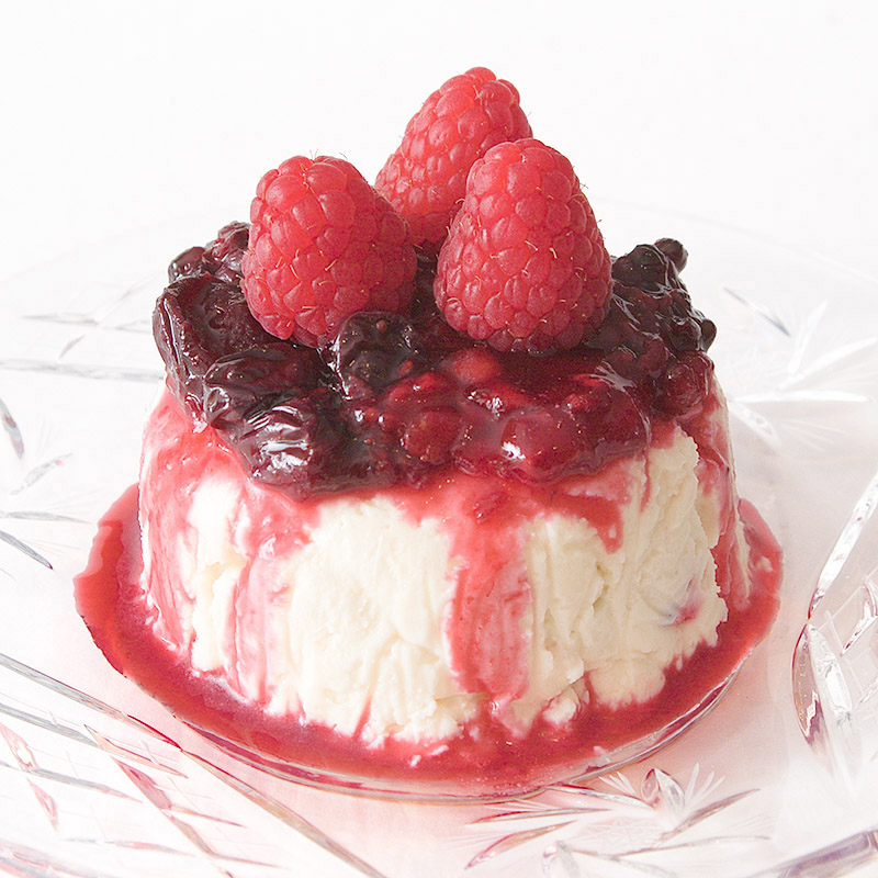 Raspberry Creamy Parcels
