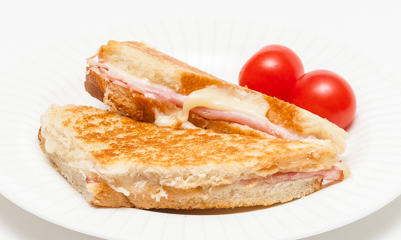 Croque monsieur recipes to remember - Croque monsieur au four creme fraiche ...