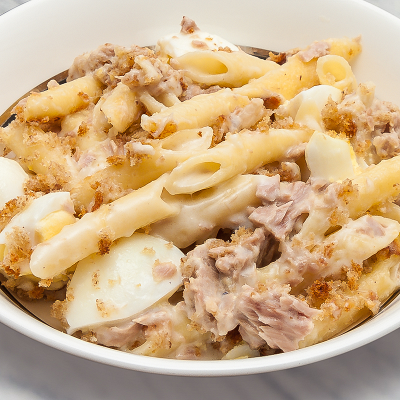 Tuna and Egg Pasta
