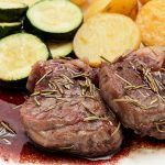 Lamb Noisettes with Red Wine Sauce