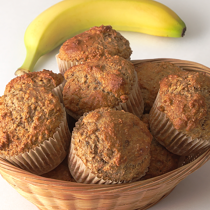 Banana Breakfast Muffins