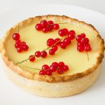 Lemon Tart with Redcurrants