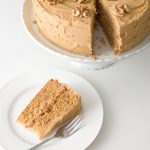 Walnut and Coffee Sponge Cake